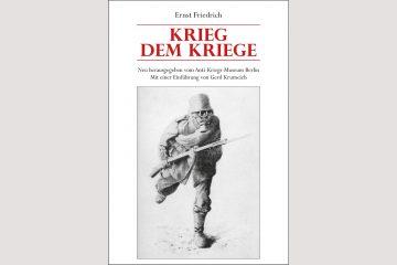 "Cover ""Krieg dem Kriege"""