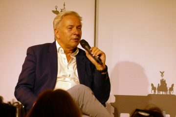 Buchvorstellung mit Klaus Wowereit bei Dussmann, Mai 2018. Foto: Ulrich