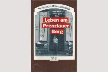 """Cover """"Leben am Prenzlauer Berg"""""""