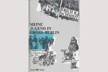 Cover Erich Schmidt, Meine Jugend in Groß-Berlin