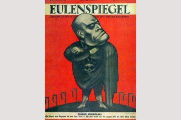 """Titelblatt des """"Eulenspiegel"""" im Juli 1928. Foto: gemeinfrei"""