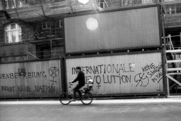 Graffiti in Kreuzberg. Foto: Ulrich Horb