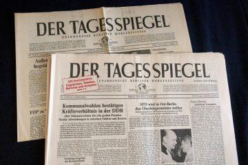 """""""Der Tagesspiegel"""": Einstieg der Holtzbrinck-Gruppe. Foto: Ulrich Horb"""